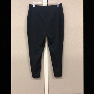 Stretch Pants with Front Seam